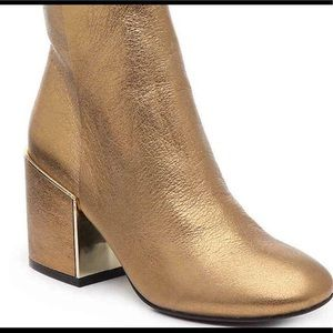 Kenneth Cole Gold Boot